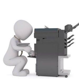 Masalah mesin fotocopy